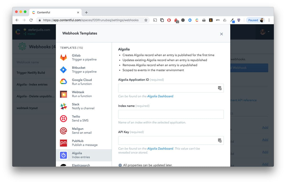 Enhancing search experience with Algolia – Contentful
